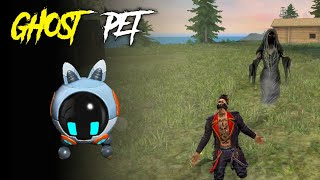 Ghost Robo Pet In Free Fire   Free Fire Ghost Video #1