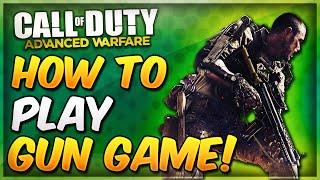 Wie zu Spielen GUN-SPIEL In Call of Duty Advanced Warfare! (COD AW Gemoddeten Gun-Spiel)