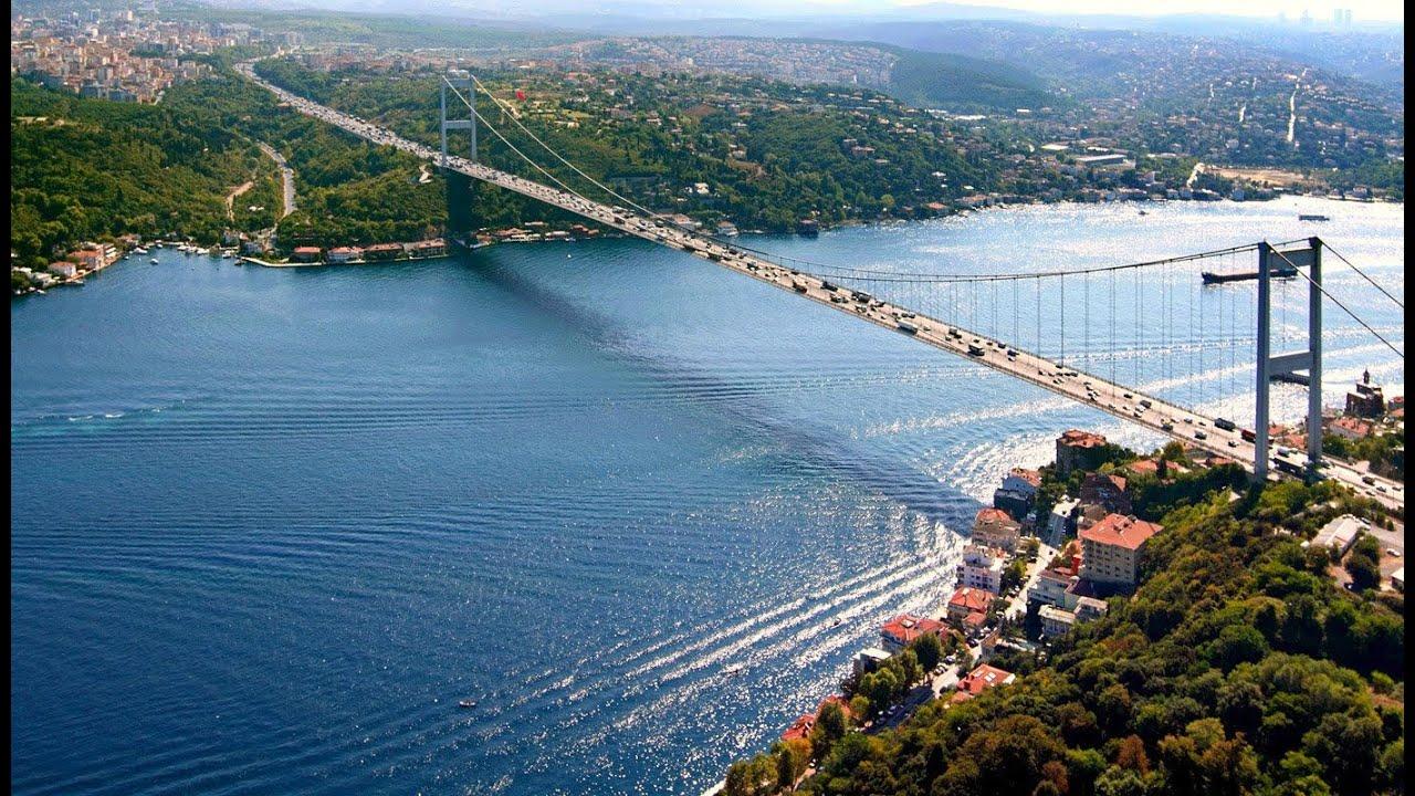 الاماكن الجميلة في اسطنبول تركيا البوسفور Youtube