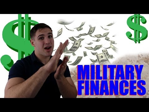 Money Advice: Finances in the Military $$$$