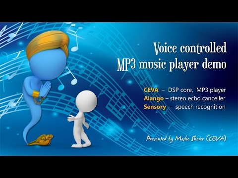 Voice controlled MP3 player DEMO