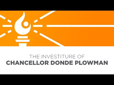 The Investiture Of University Of Tennessee Chancellor Donde Plowman