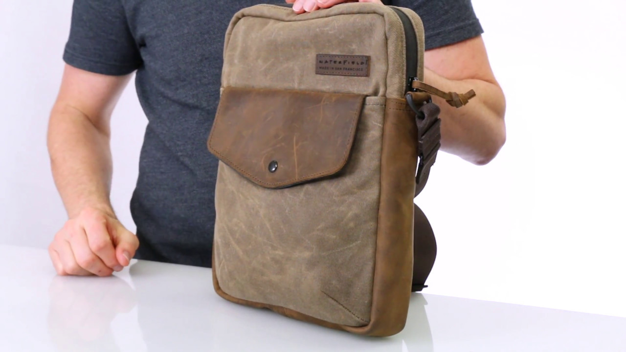 Bolt Crossbody Bag — by WaterField Designs - YouTube 52c124649f