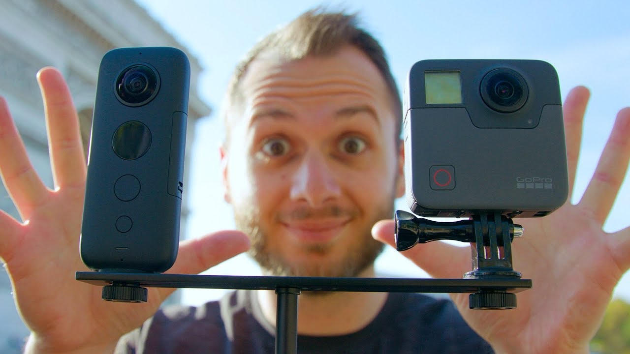 INSTA360 ONE X vs  GOPRO FUSION: Which Is Better?