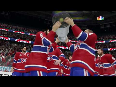 NHL 19 - Montreal Canadiens Stanley Cup Celebration