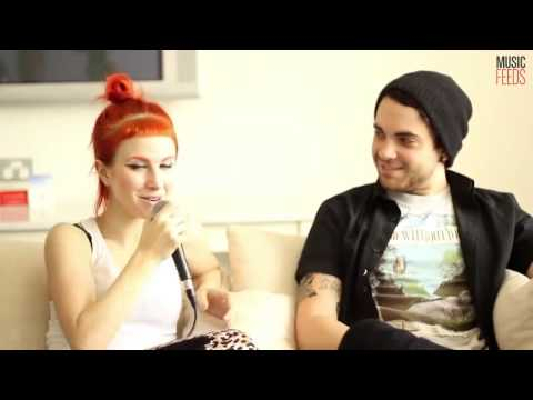 Paramore's musicfeeds interview @ Soundwave 2013