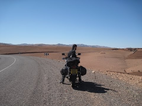 [Slow TV] Motorcycle Ride - Morocco - Marrakesh to Aghbare