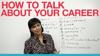 Business English - How to talk about your career thumbnail