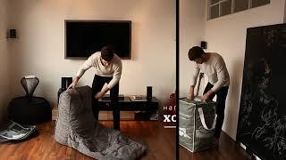 Обзор: Как наполнить бескаркасное кресло Avatar Sofa от Ambient Lounge®