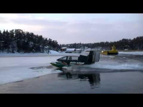Arctic Airboat