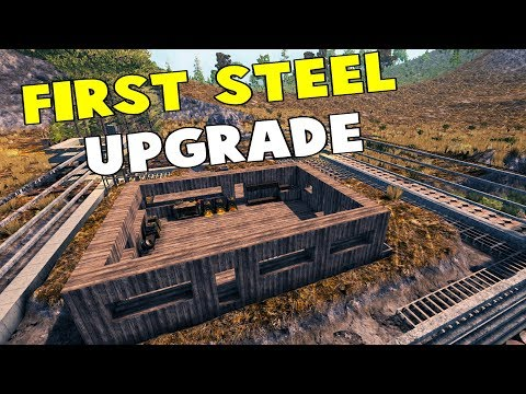 Steel Upgrade | Valmod | 7 Days To Die Alpha 16 Let's Play Gameplay PC | E28