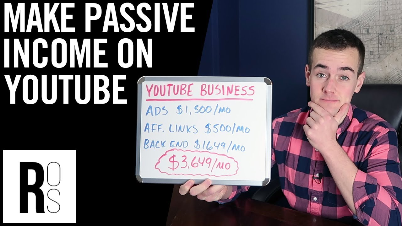 HOW TO EARN PASSIVE INCOME ON YOUTUBE 🤑 (How To Make ...