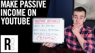 HOW TO EARN PASSIVE INCOME ON YOUTUBE