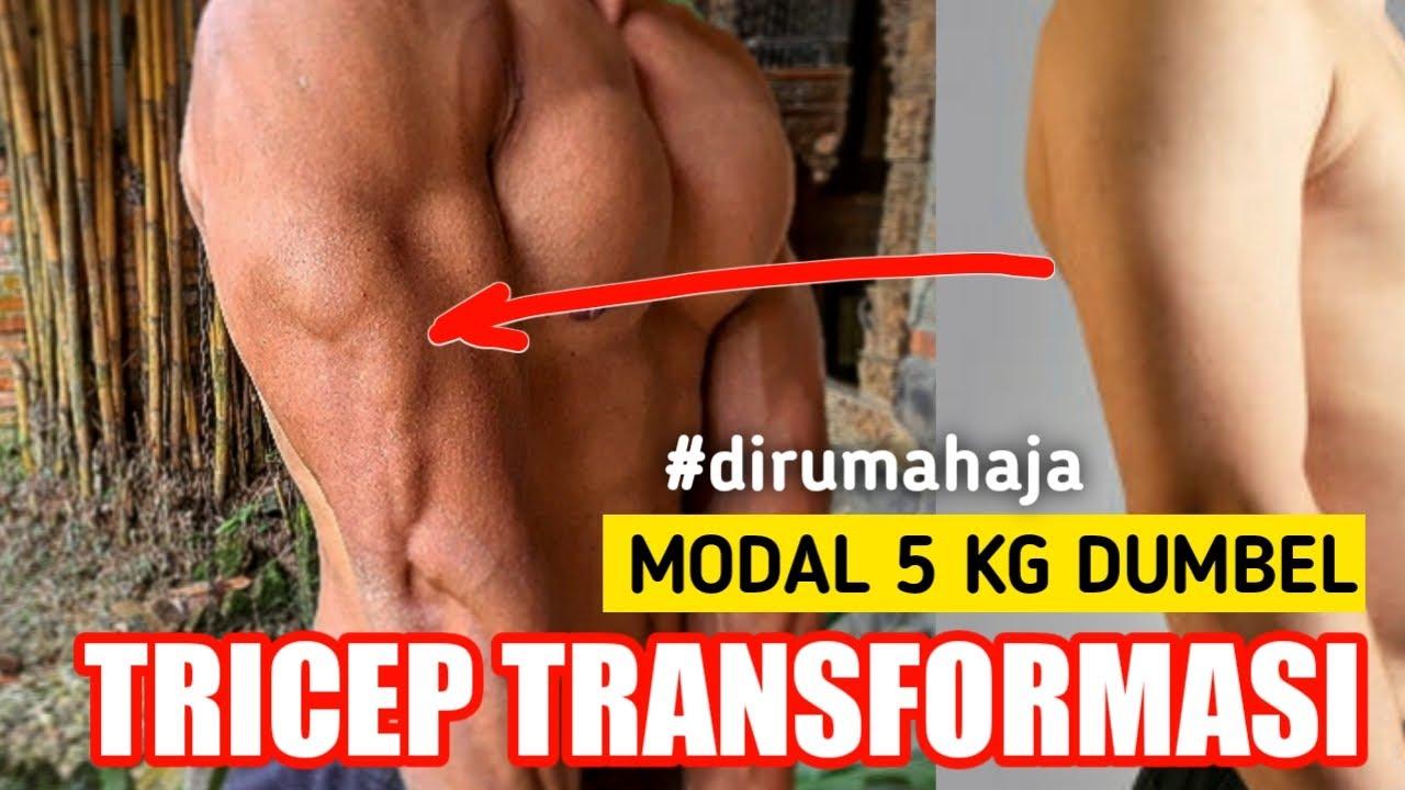 Download Melatih triceps pakai dumbbell 5 kg + Melatih tricep tanpa alat