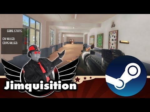 Of Course There's A Game With A Mass School Shooting In It On Steam (The Jimquisition)
