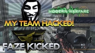 Obey Scarce: My Old Team Got Hacked, FaZe Ferox Kicked Situation (MW2 Sniping Multiplayer Gameplay)