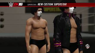 how to make shmateo in WWE 2K16