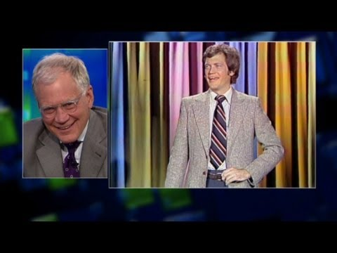 Dave Letterman on Carson's show
