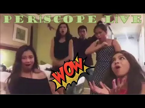 WOW! LİVE! MAİNE MENDOZA LİVE İN PERİSCOPE! Team Of Maine ! Perfect, Amazing Moment 15  Oct 2017