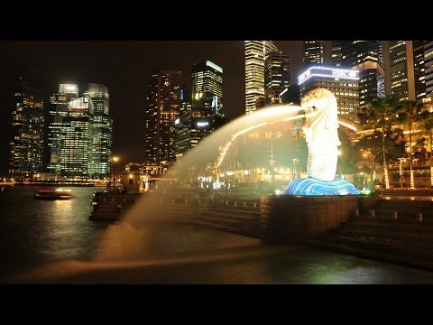Marina Bay Singapore Time Lapse HD