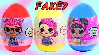 LOL Surprise Unboxed! Dolls visit Park for Fake Boy Series Surprise Eggs | Valentines Day