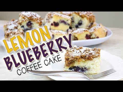 Lemon Blueberry Coffee Cake   Renee Conner