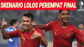 Download Video SKENARIO TIMNAS U19 LOLOS PEREMPAT FINAL PASCA KALAH LAWAN QATAR 6-5;AFC CUP;PIALA ASIA;JADWAL TIMNA MP3 3GP MP4