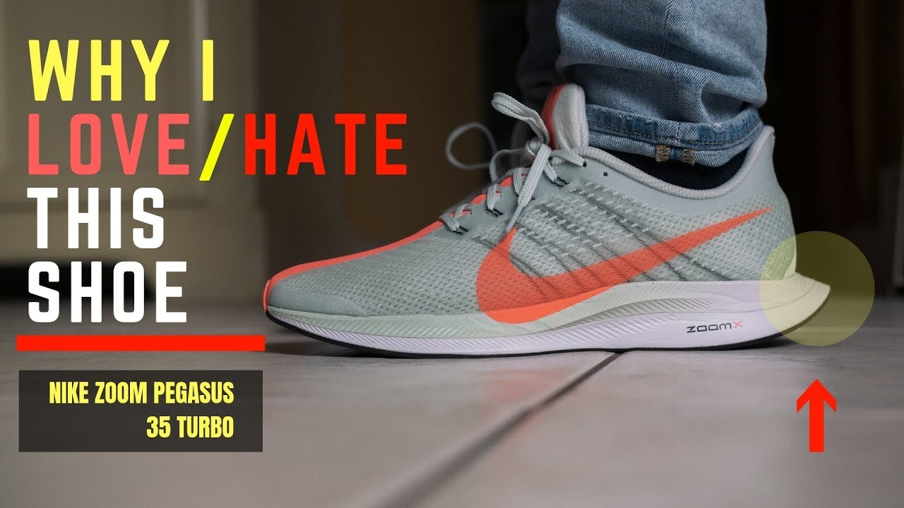 8c1b415d420 Best Nike Shoe Ever  Nike Zoom Pegasus 35 Turbo Why I love   Hate This Shoe