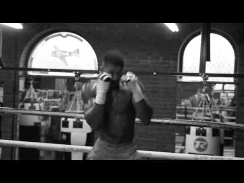 ANTHONY JOSHUA SHADOW BOXING *TRAINING FOOTAGE* AHEAD OF WORLD TITLE CLASH WITH CHARLES MARTIN