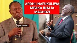 AGREY MWANRI ALIVYOMVUNJA MBAVU RAIS MAGUFULI TENA LEO!