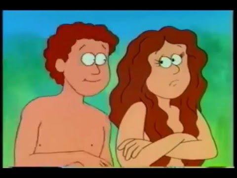 Adam und eve Cartoon-Pornos
