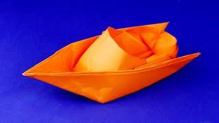 Как сделать катер из бумаги своими руками поэтапно. Пошаговая сборка, оригами, мастер класс.