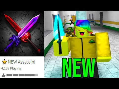 PLAYING THE *NEW* ROBLOX ASSASSIN! *CRAZY!!*