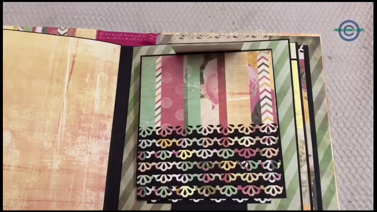DIY Waterfall Card for Beginners - YouTube