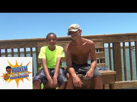 Fishing With My Son. Pier Fishing (ST.AUGUSTINE LIGHTHOUSE, PIER) Guest.HOOK MASTER ,M.J. FRESH