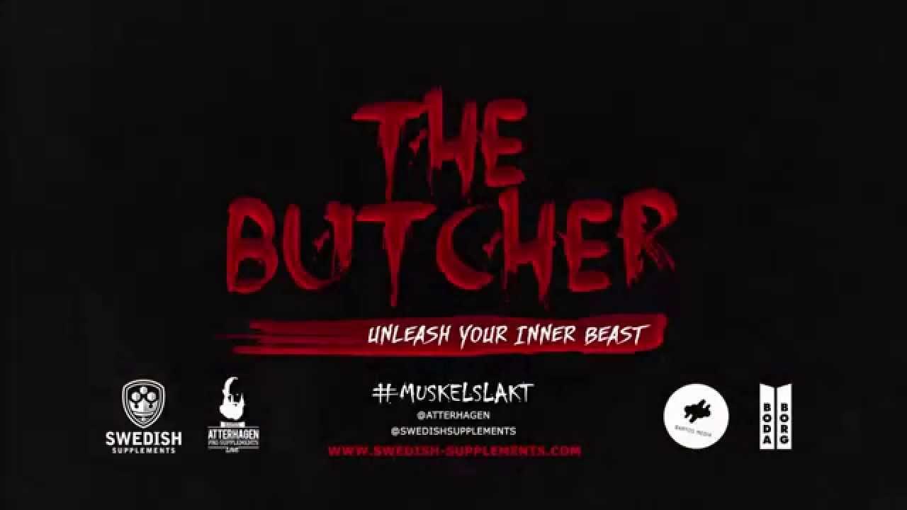 the butcher gymgrossisten