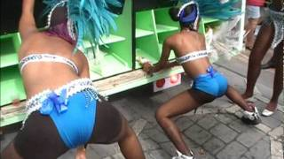 CARIBBEAN GIRLS DANCING PARTY ATMOSPHERE 4M BAND VIDEO NOKTURNA9