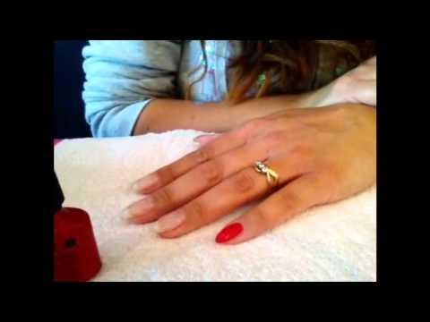 CND Shellac Rockstar Ruby Slipper Nails! & Glitter Review!