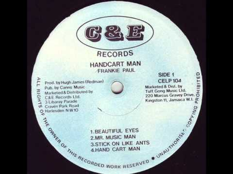 Frankie Paul - Mr music man *Hand Cart Man (c&e lp 1986) *