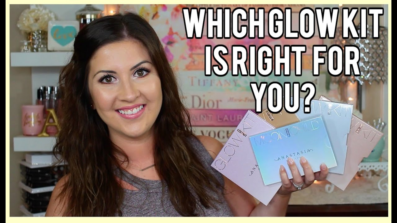 Which Glow Kit Is Right For You L All 5 Anastasia Beverly Hills