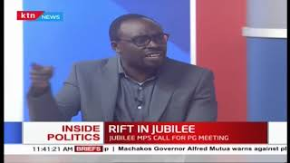 Inside Politics: Leaked audio stirs Jubilee party