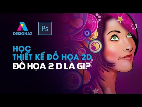 Học photoshop, học thiết kế đồ họa 2d