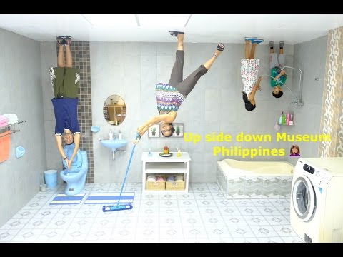 Up Side Down Museum in the Philippines! //Sanchez Fun