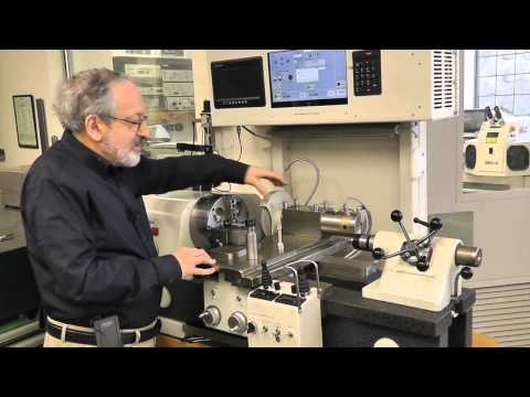 High precision air bearing CNC lathe and grinder