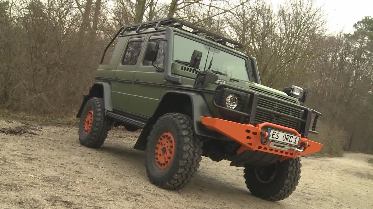 mercedes g klasse offroad sonderanfertigung bull jagd fahrzeug youtube. Black Bedroom Furniture Sets. Home Design Ideas