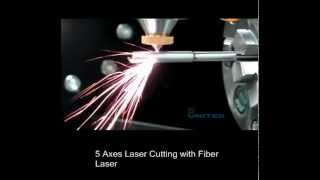 Amada Miyachi presents the cutting of a medical tube with a fiber l...
