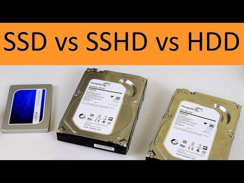 SSD vs SSHD vs HDD