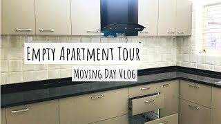 Empty New Apartment Tour + Moving Day Vlog | VlogTime