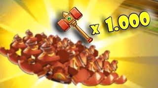 [Gunny mobi] Thử vận may với hơn 1.000 BÚA MA