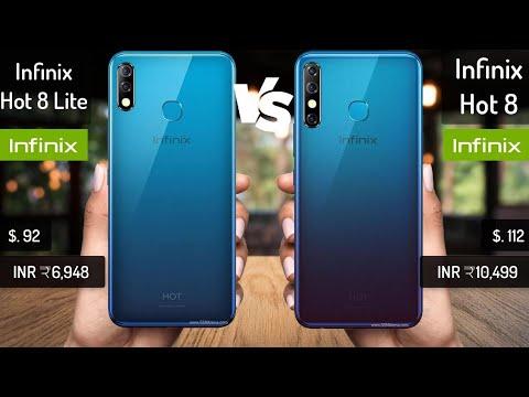 Infinix Hot 8 lite vs Infinix Hot 8